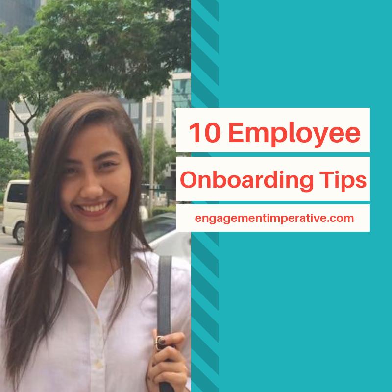 10 Employee Onboarding Tips