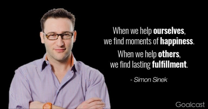 Simon Sinek Quote from Goalcast