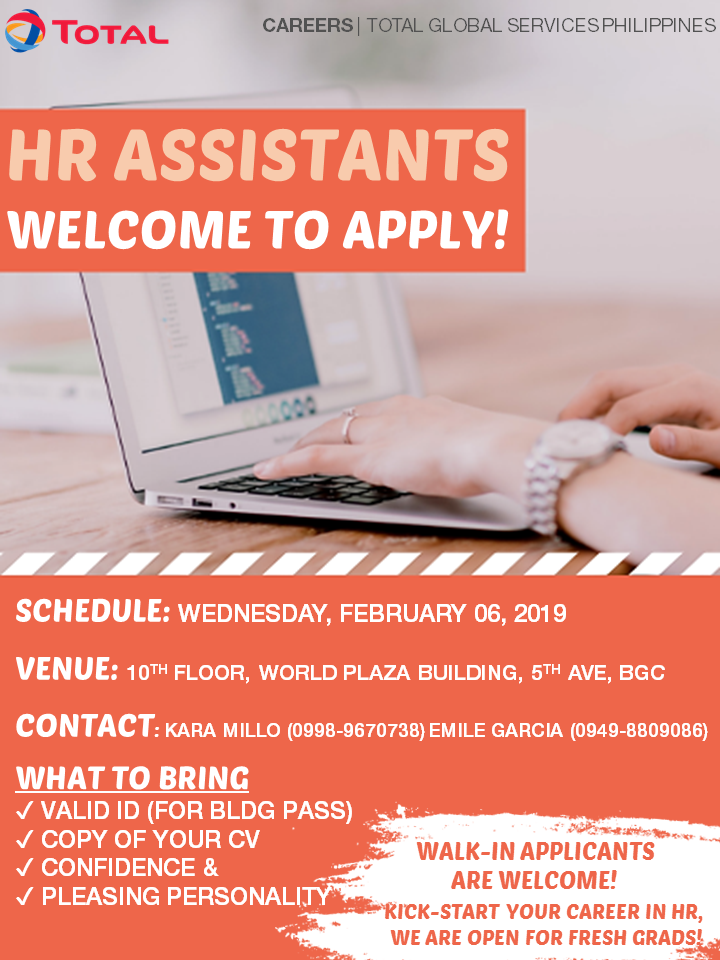 Kick-Start Your Career in HR: Apply for the HR Assistant Post