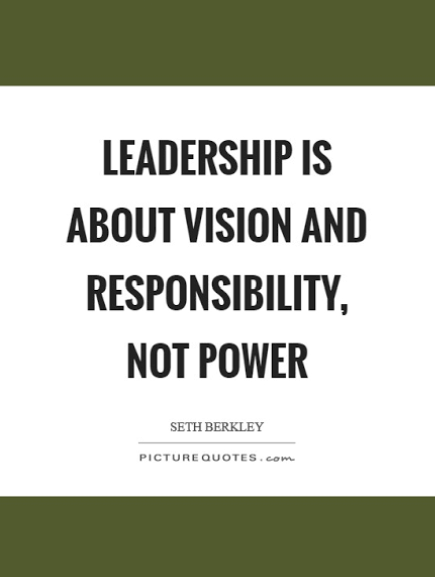 Leadership is About Vision and Responsibility, Not Power – Seth Berkley